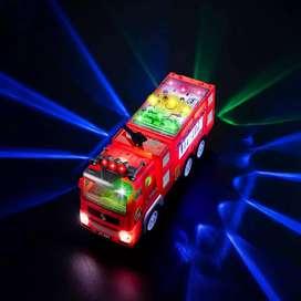 Carro de bombero de luces y sonido a pila