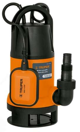 Bomba Sumergible Agua Sucia Plástica 1 1/2 hp nueva