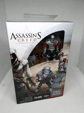 Figura Assassin's Creed / Mega Bloks Conjunto de Coleccionista de Assassin's Creed-Heavy Borgia soldado