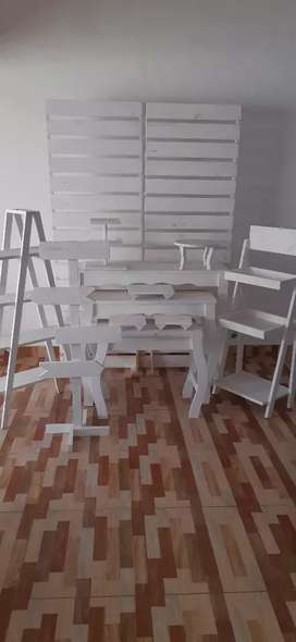Vendo mobiliario blanco NUEVO