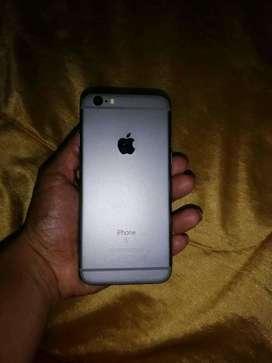 Iphone 6s estado 10 de 10 sin ninguna fisura no tiene ningún rayón