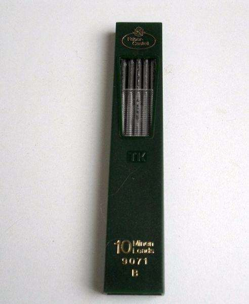 MINAS 2MM. FABER CASTELL 9071 TUBO X 10 B 0