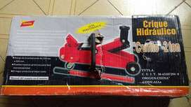 Crique carrito tipo gato hidráulico 2 toneladas reforzados