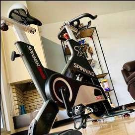 ¡Súper cómoda! Bicicleta de Spinning Importada Seminueva