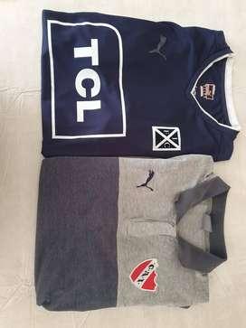 Camiseta y chomba de Independiente