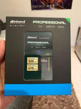 Disco Duro Solido Ssd 120gb Inland Sata 6gb/s 520/410mb/s