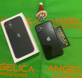 IPHONE 11 de 64gb NUEVOS FACTURA  DOMICILIOS ANGELICA COMUNICACIONES