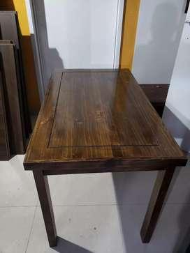 Vendo mesas de madera para restaurante