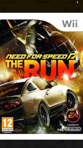 Need for speed:the run WII