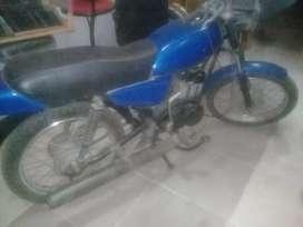 Vendo zanella rx 125 cc año 1990