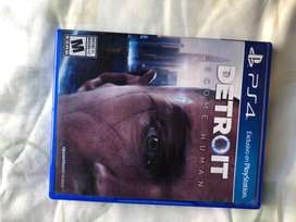 Vendo juego de ps4 Detroit become human