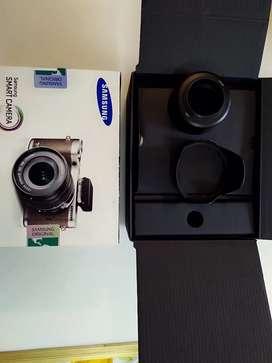 Camara Digital Sin Brillo Samsung Nx300 203mp Cmos Con 7 accesorios originales