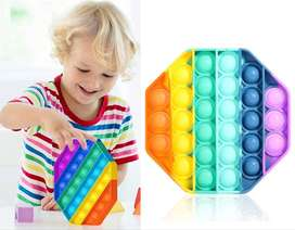 Fidget Toys Pop Jueguete Antiestres Sensorial Para Presionar Alivio  Ansiedad