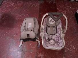 Porta bebe para carro, anclaje isofix