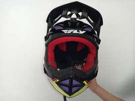Casco de Bicicross Fly Racing talla S niño