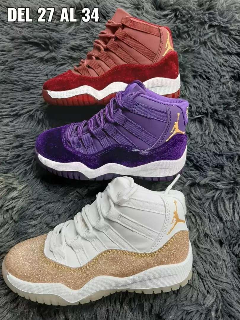 Tenis Nike Jordan niños 0