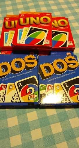 Uno y Dos juego de mesa