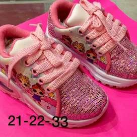 zapatos deportivos niña