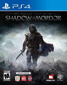 Middle Earth: Shadow Of Mordor Playstation 4 Ps4, Físico, Nuevo y sellado