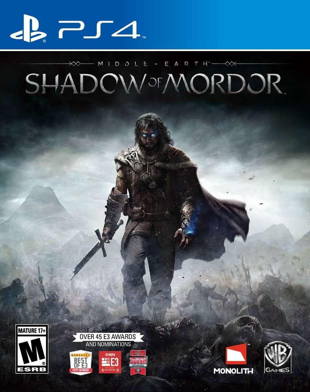 Middle Earth: Shadow Of Mordor Playstation 4 Ps4, Físico, Nuevo y sellado 0