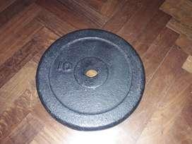 Disco de fundicion 10kg.