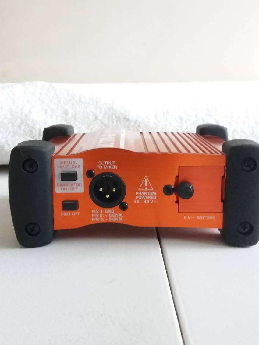 Behringer Ultra G DI Box pedal 0