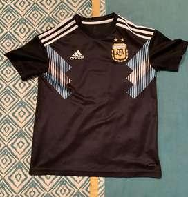 Remera argentina para niño 14-15 años