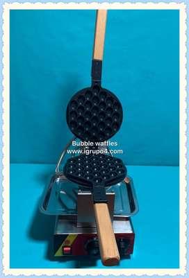 Maquina Bubble waffles