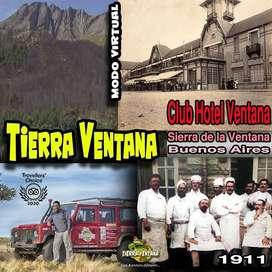 Excursión virtual en Sierra de la ventana