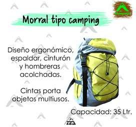 MORRAL TIPO CAMPING