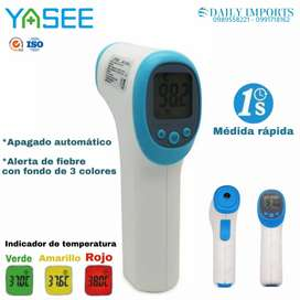 Termómetro infrarrojo /Certificados de calidad