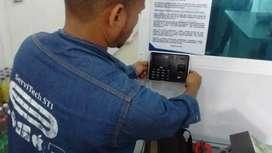Instalación Cantoneras, Elctroiman y Control Acceso y Biometricos en Cartagena