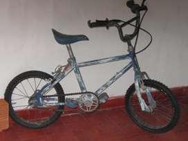 Bicicleta rodado 14cubiertas nvas.Funcionando perfectamente