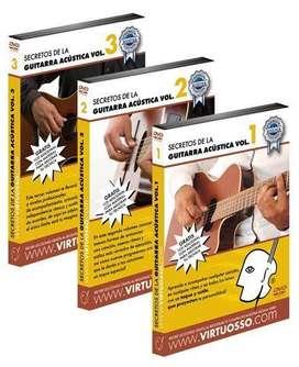 Curso de guitarra acústica en DVD
