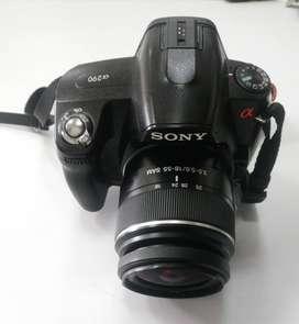 Vendo camara Sony a290