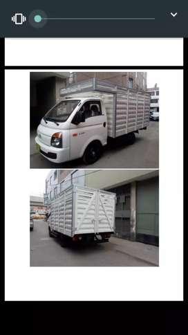 BARANDA HYUNDAI H100 / Kia 2700 FABRICACION DE CARROCERIAS.