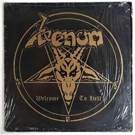 Venom Welcome To Hell Vinyl Neat Records Italy Lp 1981