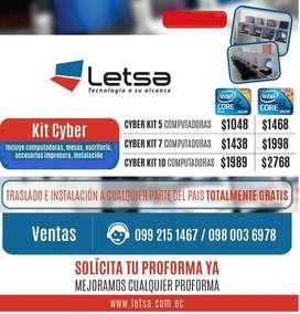 KIT 7 COMPUTADORAS CORE 2 DUO 1438 DE OPORTUNIDAD