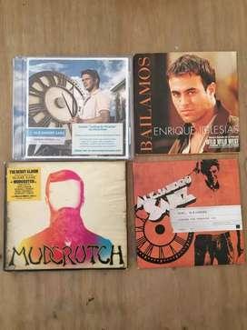 LOTE CDs MÚSICA