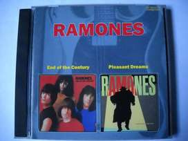 ramones end of century / pleasant dreams cd nuevo