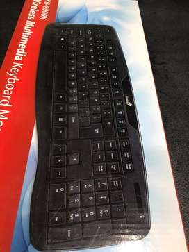 Teclado inalambrico wireless usb genius