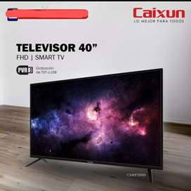 "Tv Caixun 40"" Full HD. Nuevos"