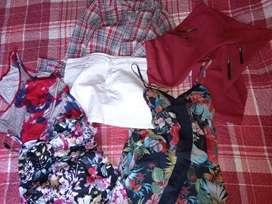 Remeras, musculosas, short, jeans, usados en buen estado.
