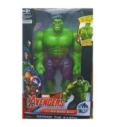 Muñeco Hulk Grande Con Luz Juguete Envio Inmediato