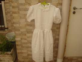 Vestido de Comunión Talle M Marca:chicos