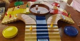 Parques en 3D para cuatro jugadores