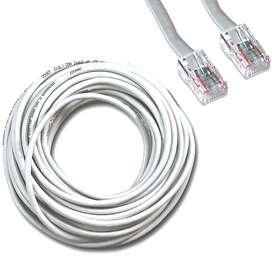 Vendo Cable de Red Rj45 Ethernet Ponchado x Metros Categoria 5e. DOMICILIO GRATIS