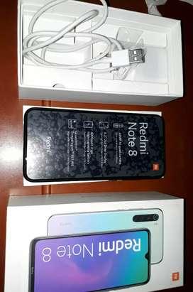Xiaomi Note 8 En Excelente Estado como nuevo ENTREGO con todos los accesorios originales con factura