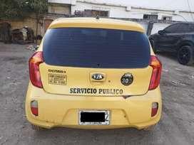 Taxi KIA Picanto 2014 Cartagena