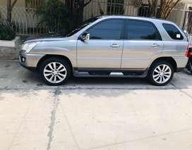 Camioneta kia sportage fq 2011 automatica gasolina full equipo radio DVD ligeramente negociable